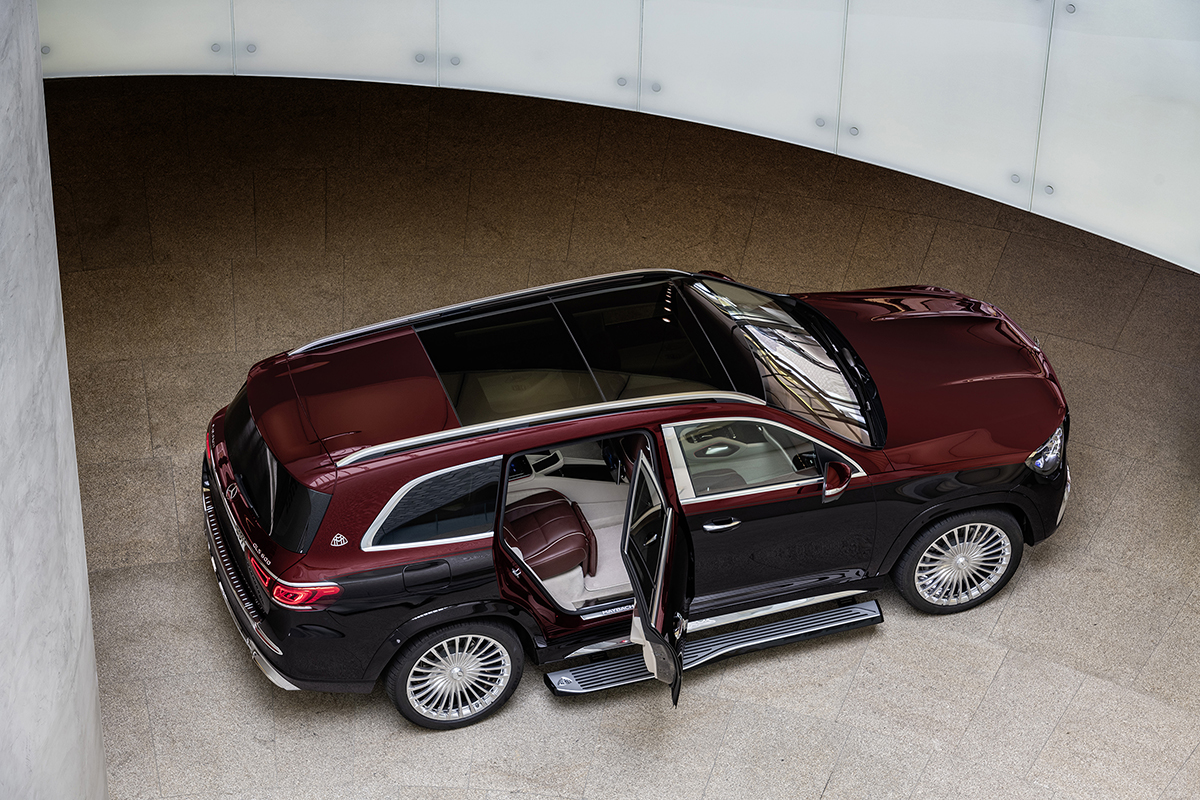 Ultimate luxury: Mercedes-Maybach GLS 600 4MATIC