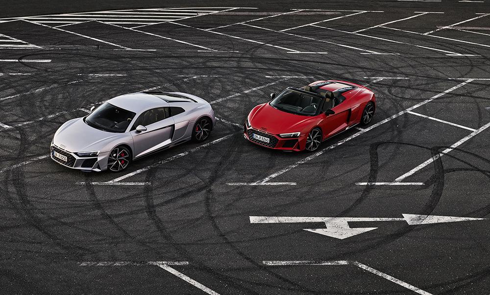 Spelen kan nu met de Audi R8 V10 RWD