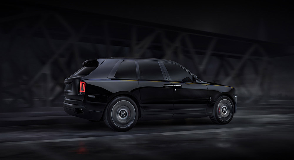 Rolls-Royce is is here with Cullinan Black Badge