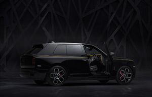 Rolls-Royce is hier met de Cullinan Black Badge