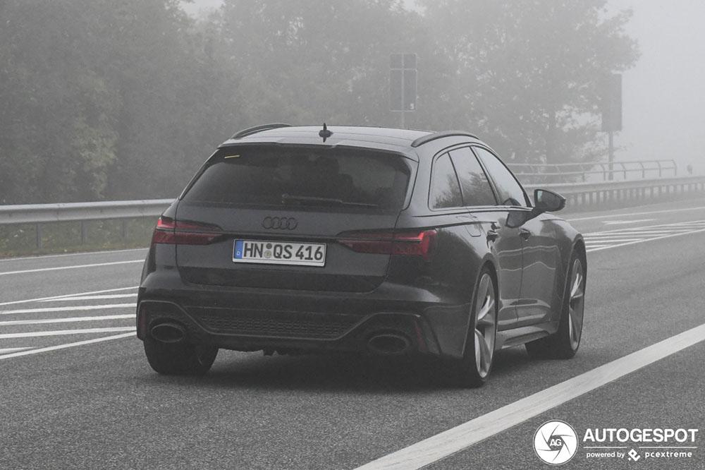 Dit is de Audi RS6 Avant C8 op straat zonder camouflage