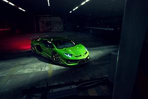 Novitec refines the Lamborghini Aventador SVJ