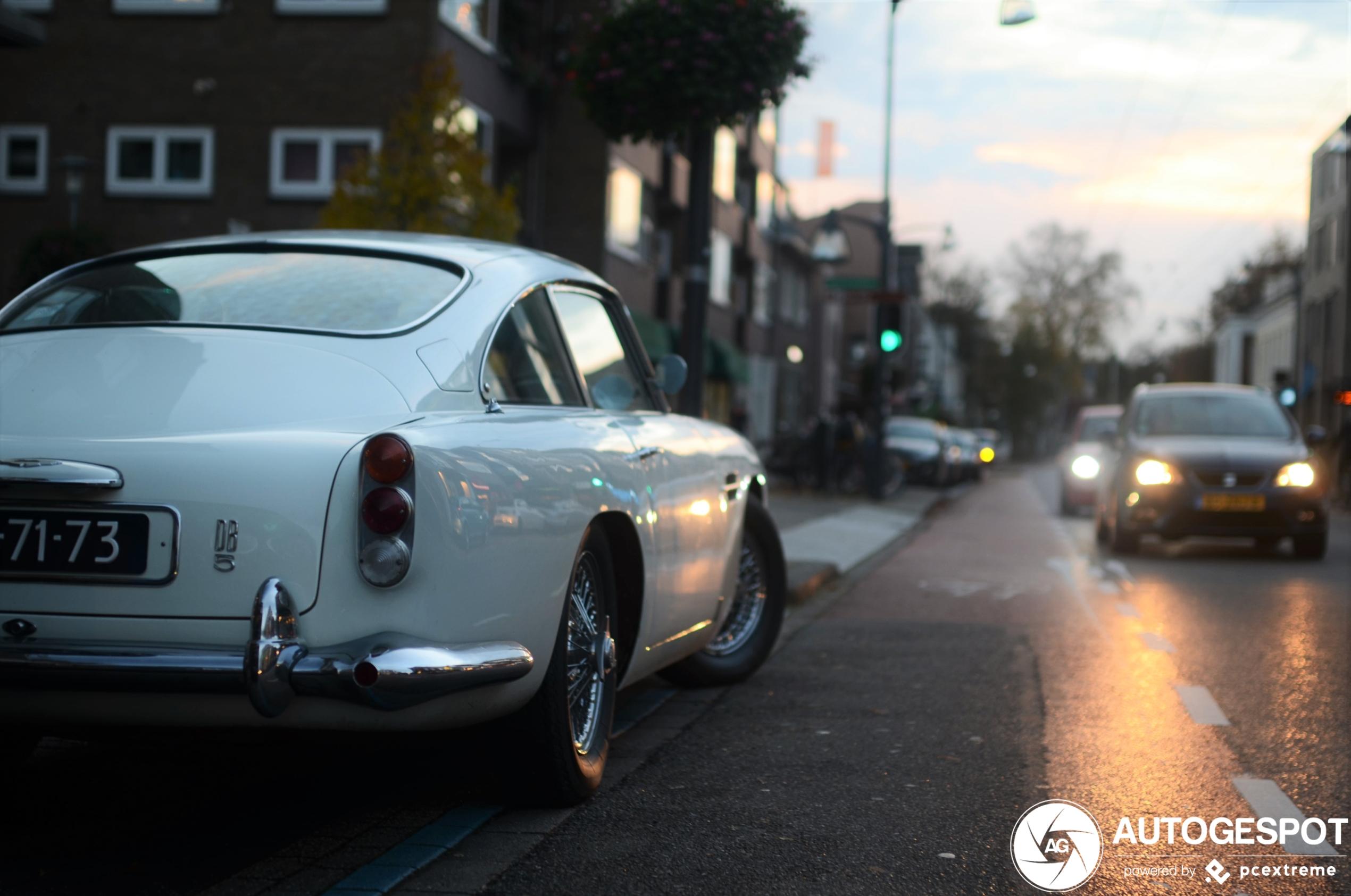 Spot van de dag: Aston Martin DB5!