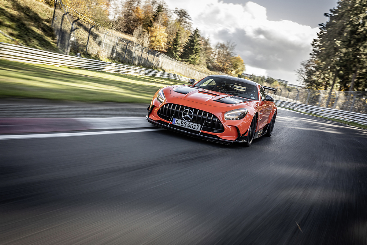 Mercedes-AMG GT Black Series is king of the ring