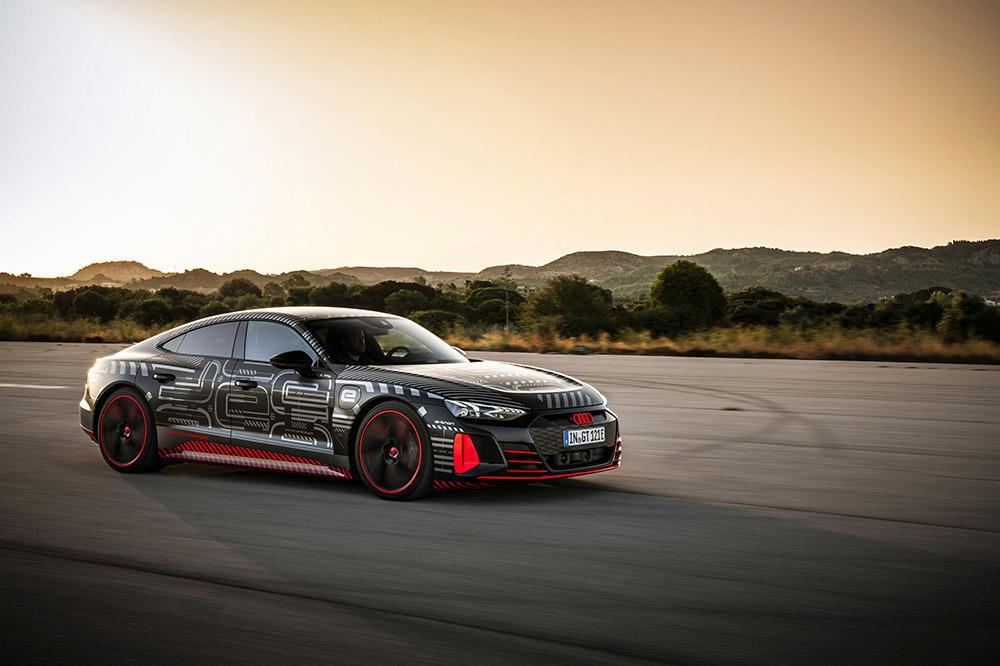 Bam! En zo leren we meer over de Audi RS e-Tron GT