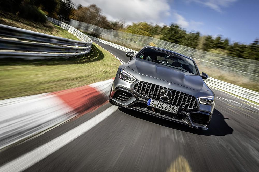 Mercedes-AMG GT 63 S regains Nürburgring record
