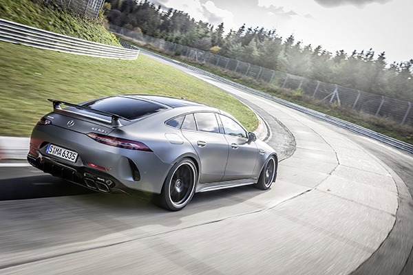 Mercedes-AMG GT 63 S pakt het Nürburgring record terug