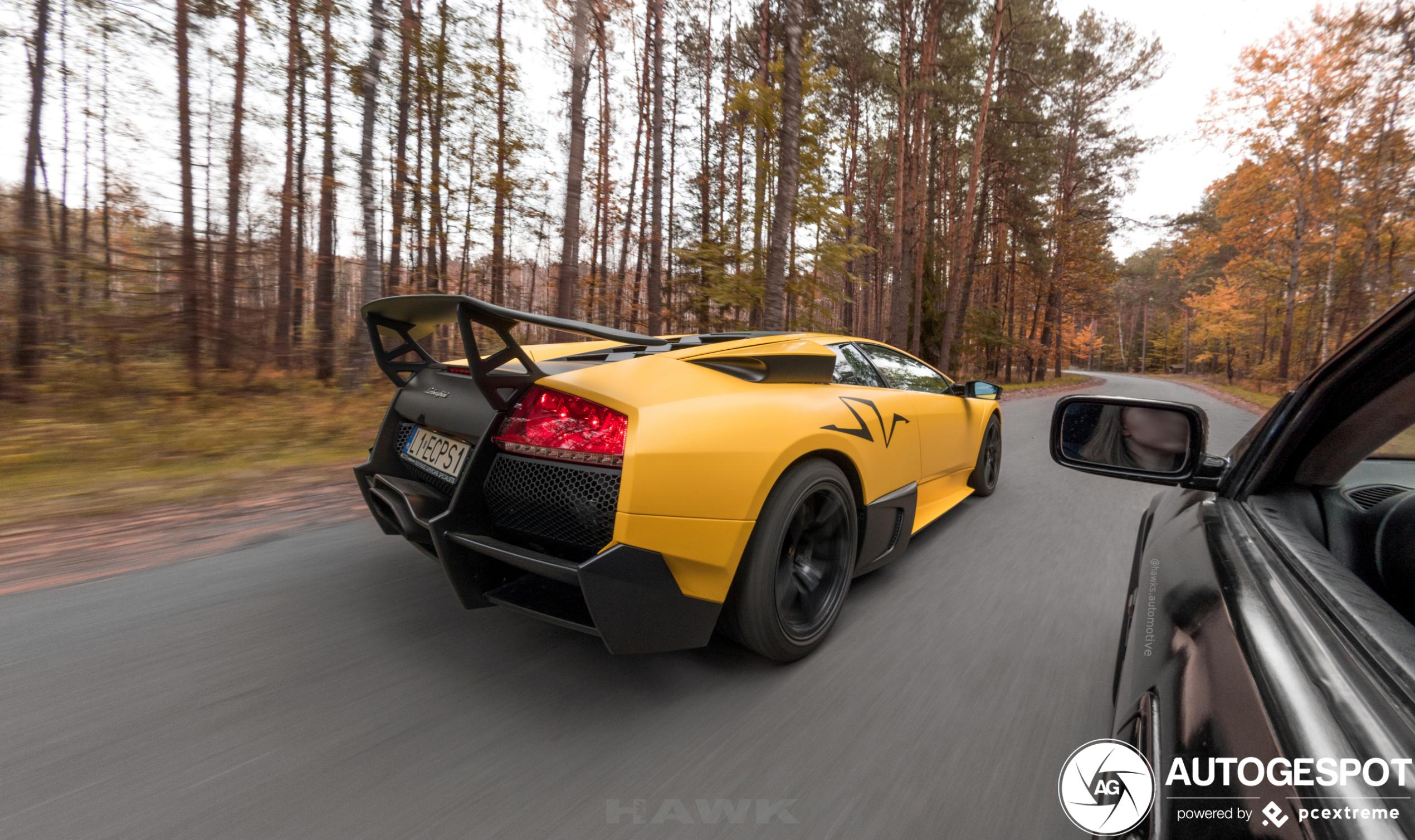 Lamborghini Murciélago LP670-4 SV doet naam geen eer aan