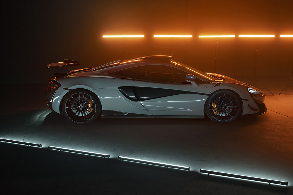 Novitec refines and gives more power to the McLaren 620R