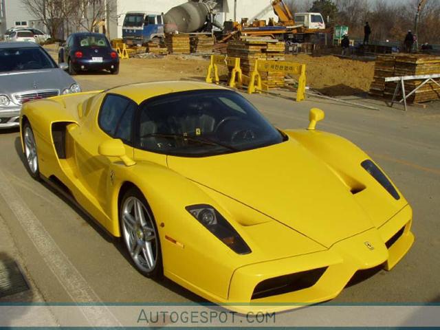 Ferrari Enzo crash!