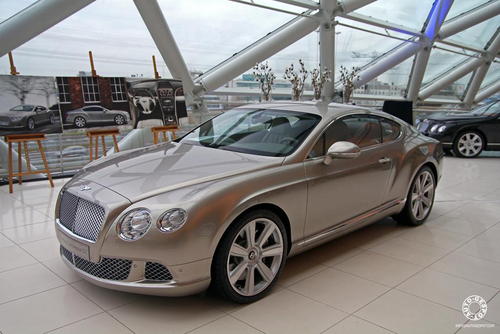 In Nederland: nieuwe Bentley Continental GT