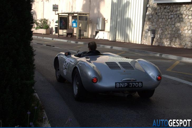 Monaco, ook goed voor de klassiekers: Porsche 550