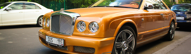 L'élégance éternelle : une Bentley Brooklands 2008 à Moscou