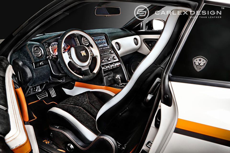 very unique interior nissan gt r by carlex design