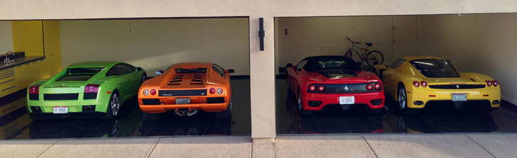 A visit to a fantastic private car collection in Scottsdale