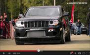 Vidéo : DragTimes organise un affrontement entre des SUV sur une piste