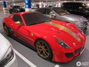 金边法拉利 599 GTO