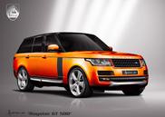 La Royster GT 500 est la vision d'une Range Rover selon Hofele
