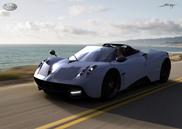 De quoi nous faire rêver : la Pagani Huayra Roadster