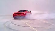 影片: 法拉利F430 Spider冬天嬉戏