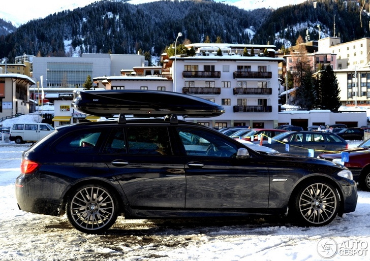 ultimate car for the wintersport bmw m550d xdrive touring spotted. Black Bedroom Furniture Sets. Home Design Ideas