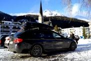 冬季运动最适合的汽车? 宝马 M550d xDrive Touring!