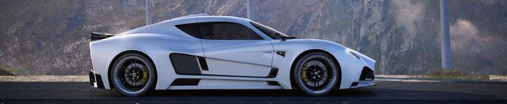 La Mazzanti Evantra V8 sera rapide, belle et brutale