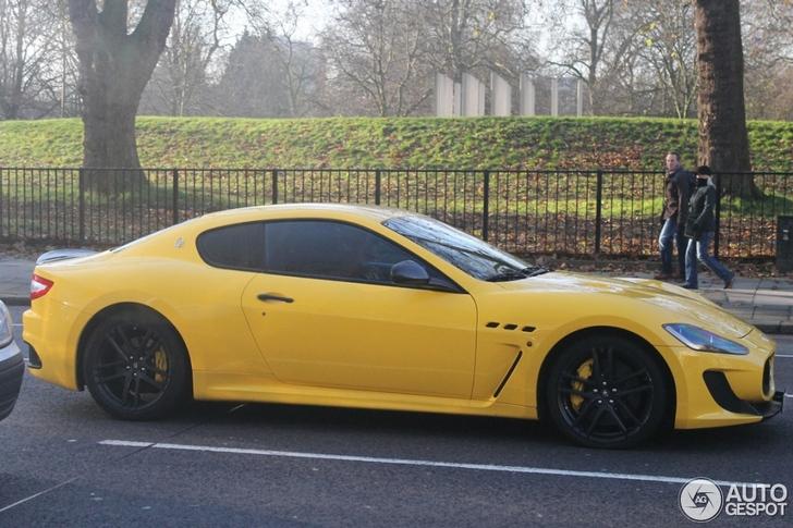Maserati GranTurismo MC Stradale looks rather good in yellow