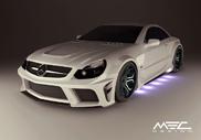 Large et brutale : la Mercedes-Benz MEC Design Widebody Bodykit