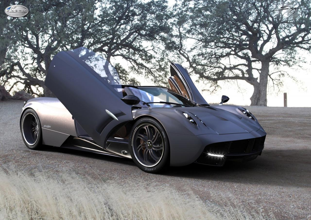 comienza la espera pagani huayra roadster. Black Bedroom Furniture Sets. Home Design Ideas