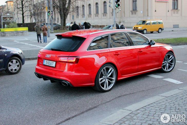 Primeur: Audi RS6 Avant C7!