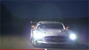 影片:奔驰 SLS AMG GT3 欢庆圣诞节