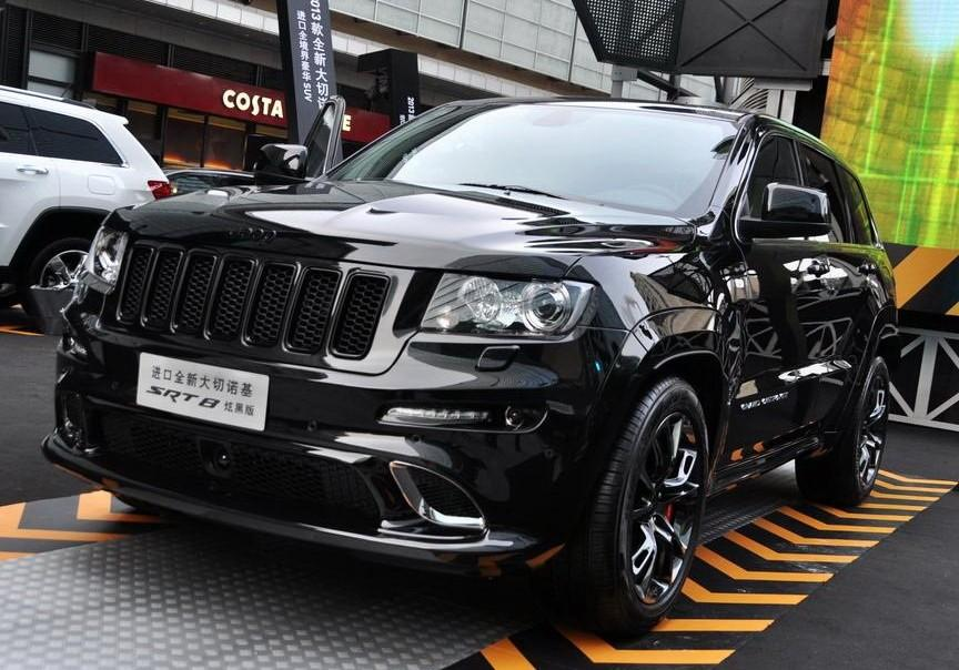 Jeep Cherokee White And Black >> Only for China: Jeep Grand Cherokee SRT8 Hyun Black Edition