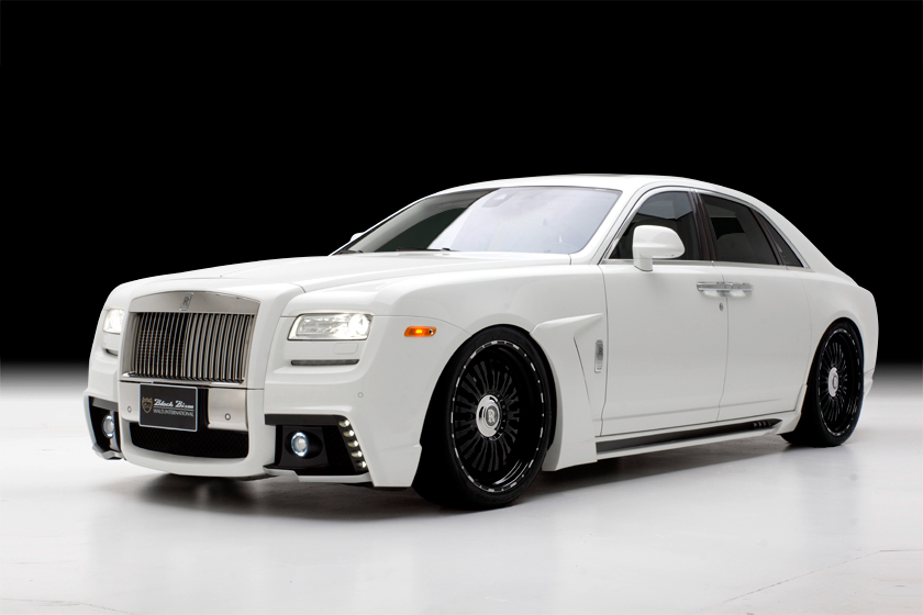 Wald Places Their Bison Kit On The Rolls Royce Ghost