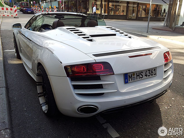This Audi R8 V10 Spyder looks different after three years