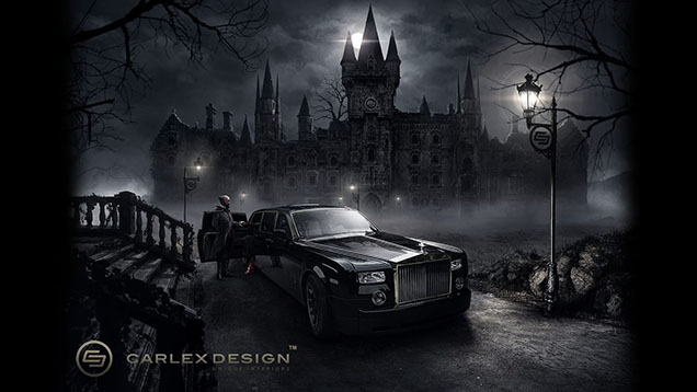 Carlex Design Project Abyss gets a Gothic theme
