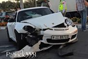 Porsche GT3 RS se slupao u Dubaiju