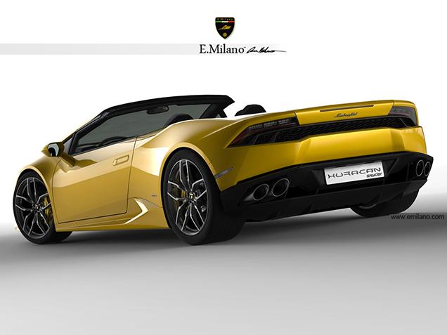 Lamborghini Huracan Lp610 4 Got A Photoshop Makeover
