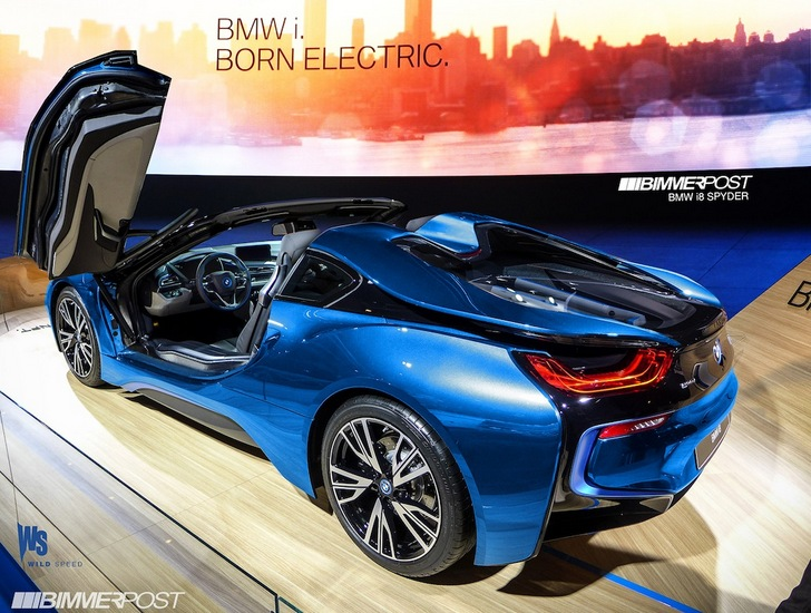 Bmw I8 Roadster Will Be Available In 2015
