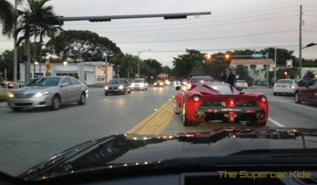 Laferrari Appears In Miami