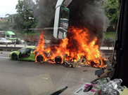 U Maleziji izgorela tri Lamborghinija