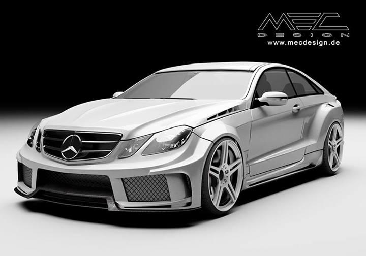 Mec Design Tunes The Mercedes Benz E Coup 233