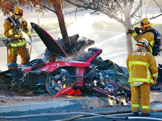 Paul Walker komt om bij gruwelijk ongeval