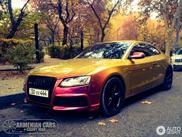 Cette Audi RS5 à l'air super sous ce soleil d'automne