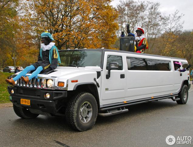 Sinterklaas Terug Naar Spanje In Hummer H2 Limousine