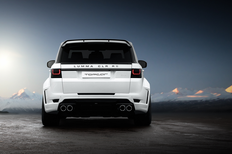 Official Range Rover Sport Lumma Clr R S