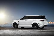 Ufficiale: Range Rover Sport Lumma CLR R S