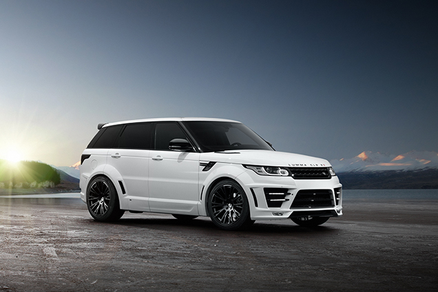 Officieel: Range Rover Sport Lumma CLR R S