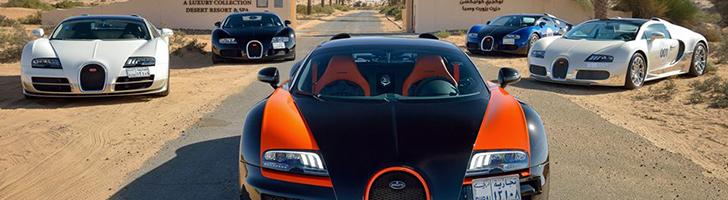 Bugatti Grand Tour показал все прелести Среднего Востока