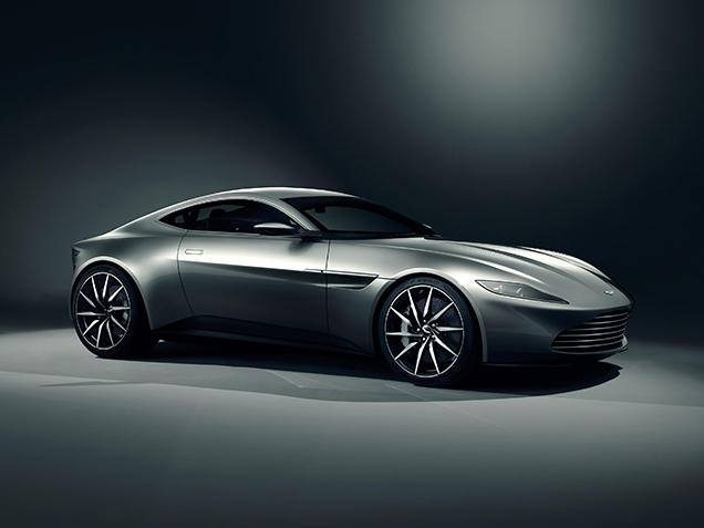 Aston Martin bouwt tien DB10's